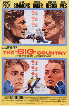 1944 the big country. #western Gregory #peck