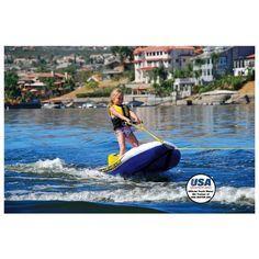 Airhead EZ Ski Inflatable Trainer Kids Single Skier Tube- Pin It to Win It!