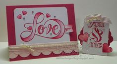 Stampin' Up! Countless Sayings I Photopolymer Stamp Set for Valentine's by Debbie Henderson, Debbie's Designs.