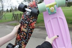 penny board   Tumblr These two are the ones I really want to get next think they look so cool and since I already have a kind of basic one, they'd be great!