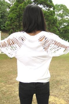 DIY t-shirt - Cheap Monday jeans - Miu Miu purse - Zara shoes
