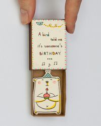 Fun Birthday Card Matchbox/ Greeting Card/ Gift box/ by shop3xu