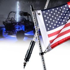 SKU: Off-Road LED Whips lights deliver outstanding colors and illumination. They are also easy to install and can be used in many ways to include providing safety or caution in any landscape. Additionally, each LED Whip Light is made with High Quality