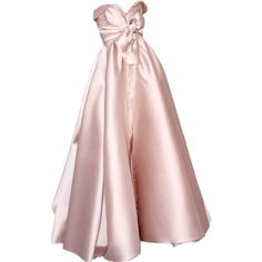 satinee.polyvore.com - Alexis Mabille ❤ liked on Polyvore featuring dresses, gowns, satinee, satinee gowns, alexis mabille, pink evening dress, pink ball gown, pink dress and pink gown