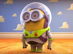 Minion Buzz Lightyear - Toy Story