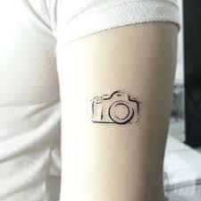 Resultado de imagen para tattoo camera fotografica