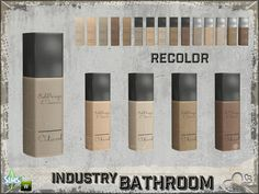 Industry Cosmetics Cream Cover by BuffSumm The Sims 4 Pc, My Sims, Sims Cc, Sims 4 Bedroom, Teen Bedroom, Sims 4 Cc Folder, Sims 4 Tsr, Sims House Design, Casas The Sims 4