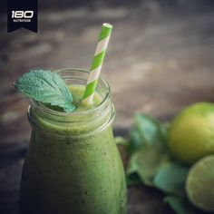 Morning nourishment 🌿  ⠀  Green Pistachio Mint Smoothie⠀  1/2 cup raw organic (unsalted & shelled) pistachio⠀  9-11 fresh mint leaves⠀  water as needed (about 1/2 to 1 cup)⠀  2 ripe frozen bananas⠀  3-4 dates⠀  1 teaspoon vanilla⠀  1 scoop 180 Superfood Coconut ⠀  pinch of himalayan sea salt⠀  ice (add ice last and enough to make your shake as thick and frosty as you like it. We add almost a whole tray)⠀ http://180nutrition.com.au/