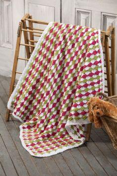 Dewdrop Baby Blanket Free Pattern