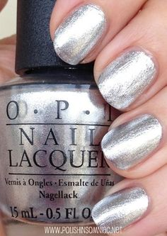 46 Best OPI Silver & Grey Shades images in 2019 | Nail paint shades ...