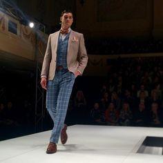 Dom Bagnato at Melbourne Spring Fashion Week 2014