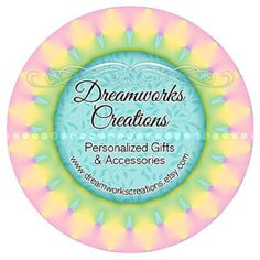 Welcome to Dreamworks Creations where you will find personalized gifts and accessories! I am setting up and adding new items often so check