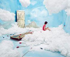 The little match girl | artista coreana Jee Young Lee | #art #scene #scenario