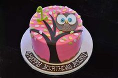 @brooke haynes... owl cake and the name is cute too. Haven't heard that one in a really long time.