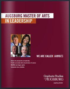Augsburg College Master of Arts in Leadership