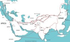 """The Silk Road on AHE! """"The network was used regularly from 130 BCE, when the Han officially opened trade with the west, to 1453 CE, when the Ottoman Empire boycotted trade with the west and closed the routes."""""""