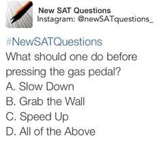 new SAT questions