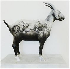 Diane Victor - Scapegoat South African Artists, Fun At Work, Artist Art, New Art, Painting & Drawing, Printmaking, Art Projects, Moose Art, Scapegoat