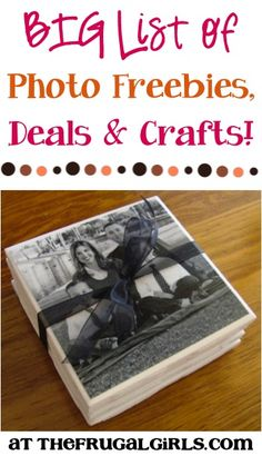 BIG List of Photo Deals, Freebies, and Crafts! ~ from TheFrugalGirls.com {get inspired with loads of fun photography craft ideas that make great gifts, too!} #thefrugalgirls