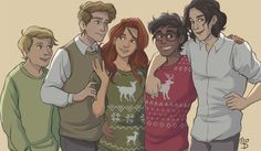 a bunch of kids ca. winter 79/80 by wingedcorgi on Tumblr