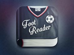Foot Reader Icon by Alexandr Nohrin