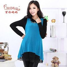 The spring and Autumn period and the new dress pregnant women fashionable two sets of large pregnant women dress code