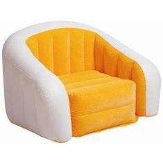Intex Orange Inflatable Cafe Club Chair