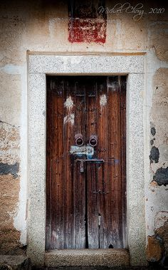 Locked Door - china