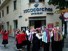 Verdiales en Restaurante Sacacorchos