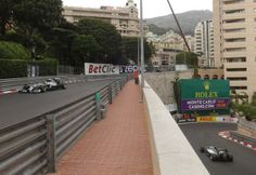 AMG Petronas Pilots in the hairpin at the 2014 The F1 Grand Prix de Monaco #F1  #Mercedes