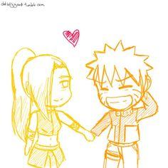 Naruto and Ino. Naruto And Hinata, Naruto Ship, Naruto Couples, Anime Couples, Naruhina, Boruto, Female Characters, Fictional Characters, Defenders