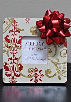 Homemade Christmas frames thanksgiving-and-christmas Christmas Frames, Christmas Pictures, Christmas Projects, Holiday Crafts, Holiday Fun, Christmas Holidays, Christmas Decorations, Xmas, Christmas Ideas