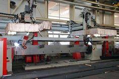 Schweissroboter von IGM beim Einsatz bei Doppelmayr, Wolfurt