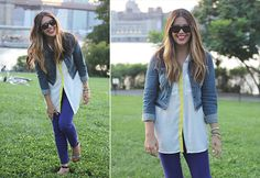 Brighten your blouse with our fun DIY!