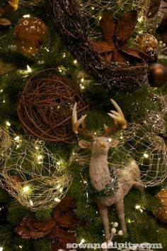 Rustic Bling Holiday Decor - Sow & Dipity