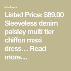 Nine West Womens Printed Multi - Ufrock Chiffon Maxi, Day Dresses, Nine West, Ulzzang, Paisley, Math, Prints, Women, Animales