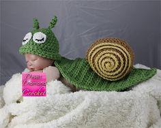 Ravelry: 031 - Snail Critter Cape pattern by Rebecca Goldsmith