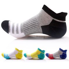 In Men Colours Stripe Partchwork Exercise Knee-high Socks Male Fashion All-match Business Casual Cotton Breathability Funny Sock Exquisite Workmanship