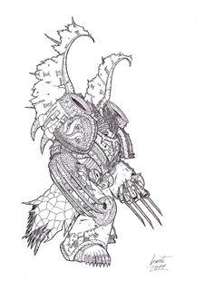 Struthios, The Dragon by Greyall.deviantart.com on @deviantART