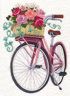 Machine Embroidery Designs at Embroidery Library! - New This Week I LOVE this - so pretty