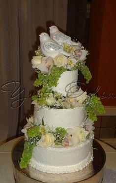 Pastel de boda en Mexicali B#238 / Wedding cake