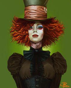 Chapeleiro Maluco - Alice no País das Maravilhas - Alice in Wonderland