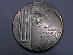 Annuncio COINS 20 LIRE MUSSOLINI MCMXVIII nella categoria Italia, San Marino e Vaticano,Europa (non-€ e pre-€),Monete,Monete e banconote su eBid Italia