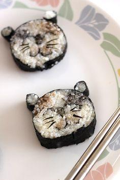 Kitty Cat Sushi by vondelicious #Sushi #vondelicious #Cat_Sushi