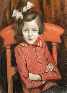 The Charlady's Daughter, 1934 by C. R. W. Nevinson (British 1889-1946)