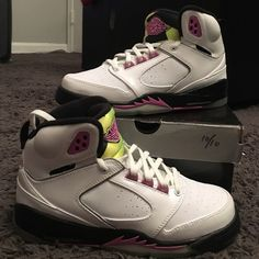 Jordan Sixty Plus GS Worn once, no flaws! Box not included. Nike Shoes Sneakers
