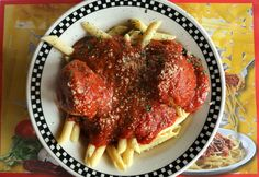 Meatballs and penne pasta as prepared at Cipriani's in Medina on Wednesday, Oct. 1, 2014. (Thomas Ondrey/The Plain Dealer)