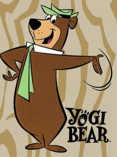 Yogi Bear (and Boo Boo) Tag your it I found you.