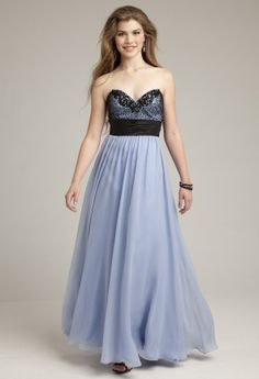Prom Dresses 2013 - Beaded Motif Grecian Dress from Camille La Vie and Group USA