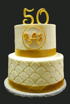 50th wedding anniversary cakes | Ideas For 50th (Golden) Wedding Anniversary Cakes